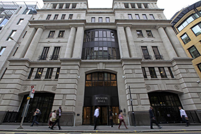 Pinners Hall Window Cleaning Contract Confirmed Ecms Ltd