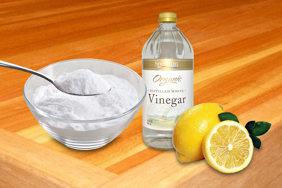 Bildergebnis für odor cleaner with baking soda and natural lemon juice
