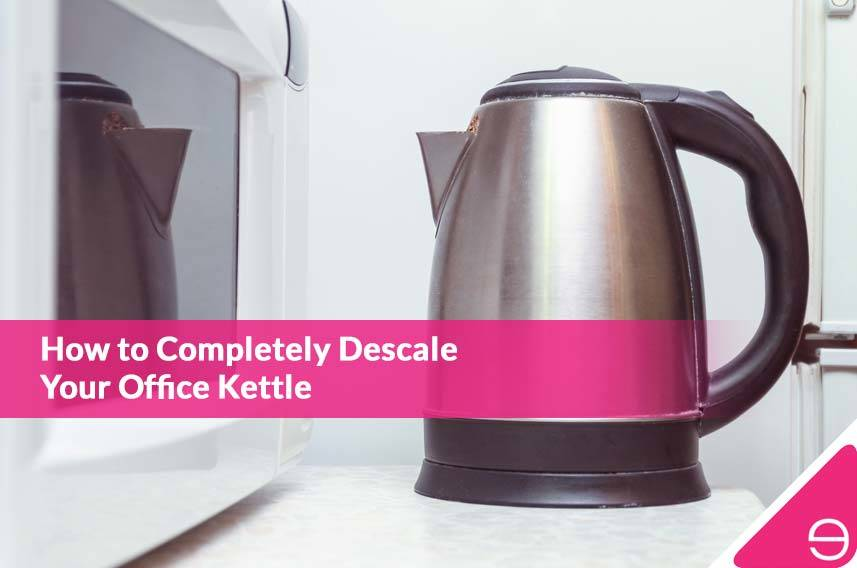 How to Completely Descale Your Office Kettle